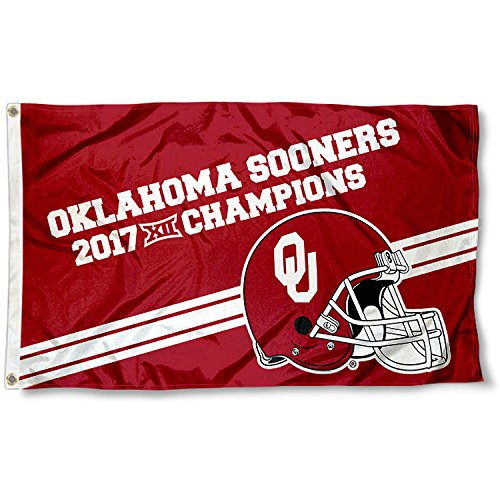 College Flags and Banners Co. Oklahoma Sooners 2017Big 12Champions Flagge -