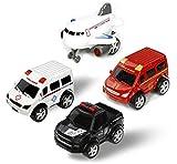 Spielzeugauto Baby Mini Spielzeug Auto Set Polizei Kinder Kunststoff Spielzeugautos Kleinkinder