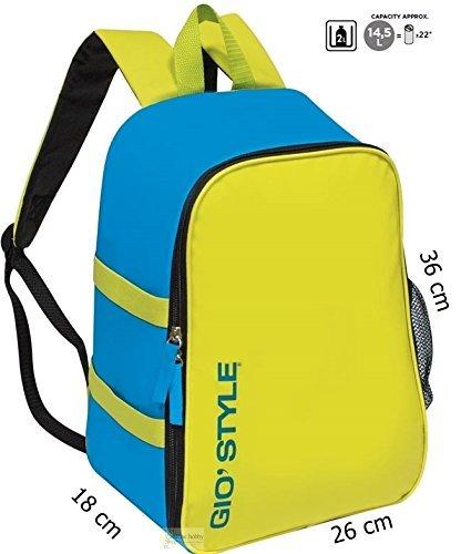 GioStyle Kühltasche Rucksack Thermo, Blau, 26x15 cm
