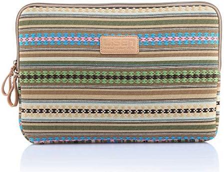 GFLD Borsa per Notebook Notebook Notebook in Stile Etnico Dorato Giallo con Strisce a Righe 6-15 | Sensazione Di Comfort  | Fine Anno Vendita Speciale  472519