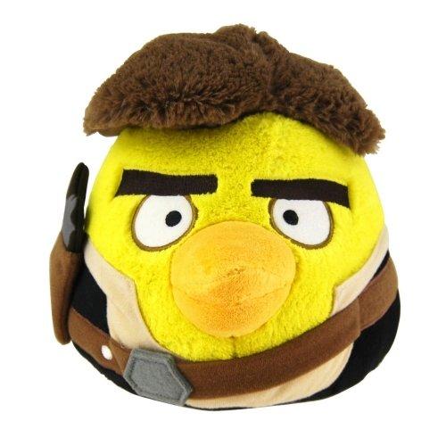 Angry Birds Star Wars Han Solo Plüschfigur 15 cm Plüsch Stofftier Beanie (Angry Star Wars Birds Plüsch)