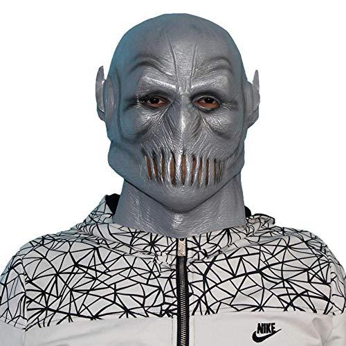 LXIANGP Halloween Ghost Festival Party Horror Maske Latex Kopf Abdeckung Film Maske Cos Erwachsene Maske Schießen Requisiten