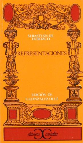 Representaciones                                                                . (CLASICOS CASTALIA. C/C.)