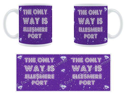 The Only Way Is Ellesmere Port-Stylised Große Tasse aus Keramik Ellesmere Port