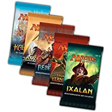 Magic the Gathering MTG Welcome Geschenk Set - 5x Booster Pack - Ixalan, Stunde der Vernichtung, Amonkhet, Äther Rebellion und Kaladesh - deutsch