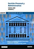 Temario 1 Gestión Procesal y Administrativa, turno libre