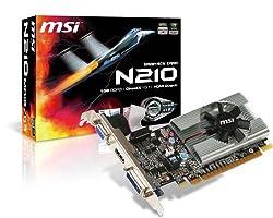 MSI N210-MD1G/D3 Nvidia Geforce 210