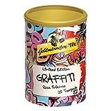 Goldmännchen Tee PUROMA Graffiti / Rote Früchte, Früchtetee, Teebeutel, Tee Pads, 25 Puroma-Beutel, 9225