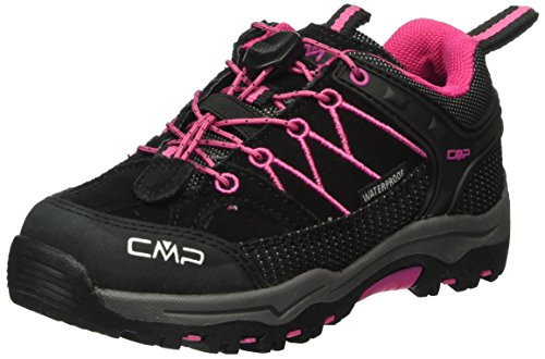CMP Unisex-Kinder Rigel Trekking-& Wanderhalbschuhe Grau (Antracite-HOT Pink 515Q)