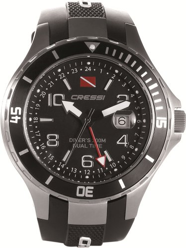 Zoom IMG-1 cressi traveller dual time orologio
