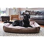 Luxury Fleece Cradle Dog Bed Size Extra Large XL 7
