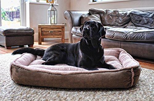 Luxury Fleece Cradle Dog Bed Size Extra Large XL 1