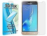 SDTEK Samsung Galaxy J3 2016 Verre Trempé, Protection écran Résistant aux éraflures Glass Screen Protector Vitre Tempered Protecteur