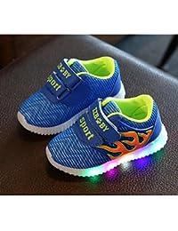 aemember Boys 'zapatos de tul Otoño Invierno comodidad Zapatillas para Casual Royal azul Peach, US7 / EU23 / UK6 Toddle, Royal Blue