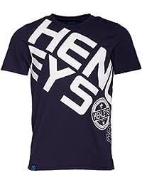 Mens Henleys Steep T-Shirt Graphic Print Casual Short Sleeve Crew Neck Top
