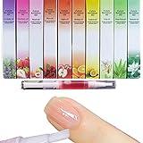 5 Pcs New Cuticle Revitalizer Olio Nail Art Treatment Manicure Ammorbidire Pen Tool Nail cuticola Olio penna