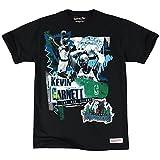 Mitchell ness minnesota timberwolves & kevin garnett tailored nBA player t-shirt noir Noir m