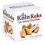 Köln Keks der kölsche Glückskeks 66g - Weizengebäck mit Spruch (1er Pack)