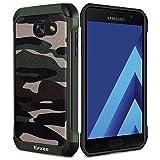 Epxee Samsung Galaxy A3 2017 Hülle, Silikon Handyhülle Schwarz TPU Bumper Cover Schutzhülle für Samsung Galaxy A3 2017 Case – Camouflage