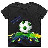 WTUS Herren WM 2018 RUSSIA Trikot 3D Top 32 Gedenkausgabe Kurzarm T-Shirt