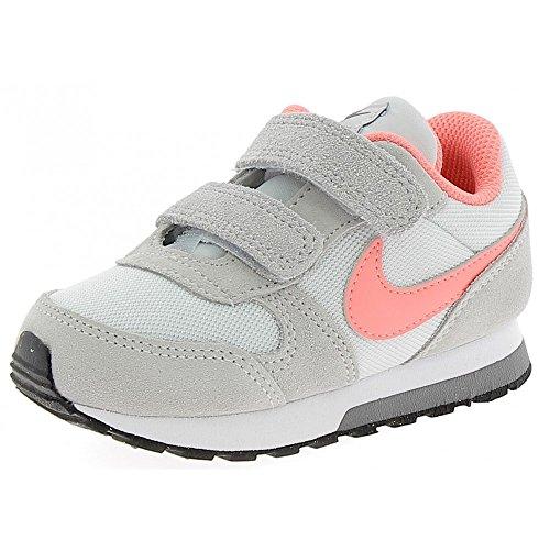Nike Mädchen Md Runner 2 (Tdv) Turnschuhe Grau