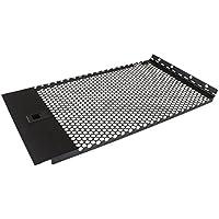 StarTech.com Pannello Cieco Ventilato con Cerniera per Rack Server, 6U, Nero/Antracite