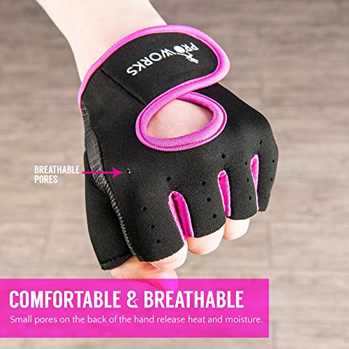 Zoom IMG-2 proworks guanti imbottiti senza dita