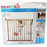 Munchkin Single Panel - Barrera de seguridad de madera