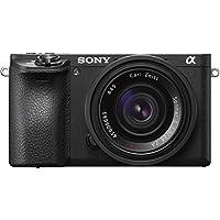 Sony Alpha 6500 APS-C E-Mount Systemkamera (24,2 Megapixel, 7,5 cm (3 Zoll) Touch Display, 5 Achsen-Bildstabilisierung, 11fps, 425 Phasen AF-Punkte, OLED Sucher, 4K Video) schwarz