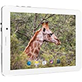 Blaupunkt Polaris 803, env. 20,3cm (8pouces) Tablette PC avec Android 4.4.2(Quad Core CPU MTK8382@ 1,3GHz, 1Go de RAM, 8Go de mémoire interne, 3G, écran tactile) Blanc/argenté