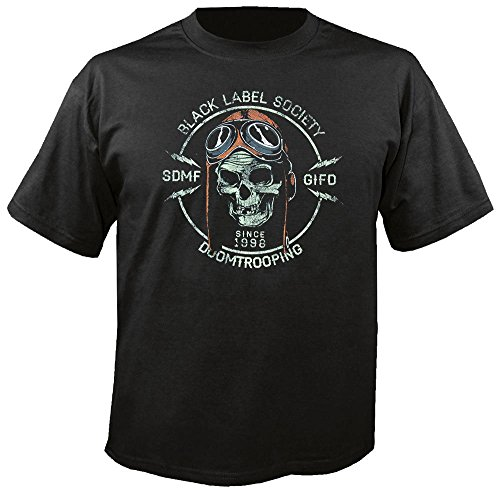 BLACK LABEL SOCIETY - Doom Trooper - T-Shirt Größe L - Black Label Crew