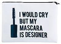 Kukubird New Emoji Animal Variety Print Simple Make-up Bag With Kukubird Dust Bag - Designer Mascara