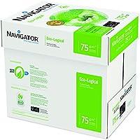 Navigator 355163 - Caja con folios de papel multifunción, 500 hojas, 5 paquetes
