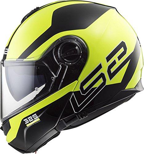 LS2-FF325-Strobe-Zone-Casco-Modular-de-Moto-DVS-Motocicleta-Bicicleta