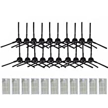 NTNT 20 pcs Cepillo Lateral (10 Par) + 11 pcs filtros de HEPA Pincel