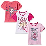 #6: Cherokee Girls' T-Shirt (Pack of 3)
