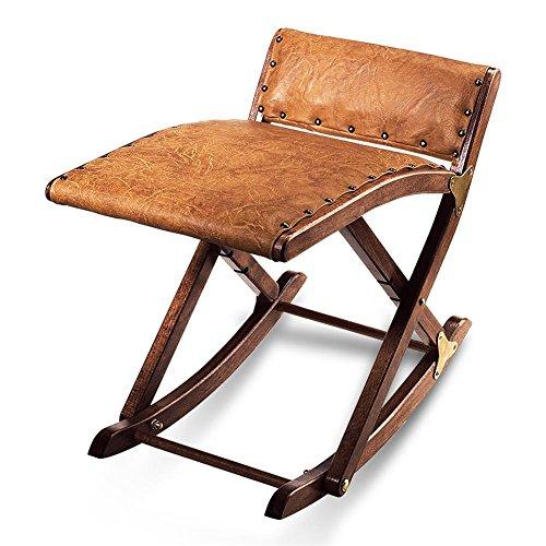 HC de Comercio 936053Pierna columpio balancín de pies Banco de madera maciza con funda de piel sintética acolchada 49x 41cm