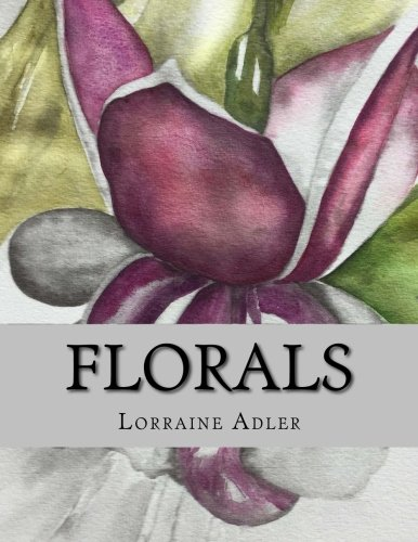 Florals: A Grayscale Coloring Book Patchwork-adler