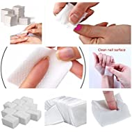 Brand New 400 X Nail Wipes Pads Art Gel Acrylic Polish Remover Pedicure Manicure