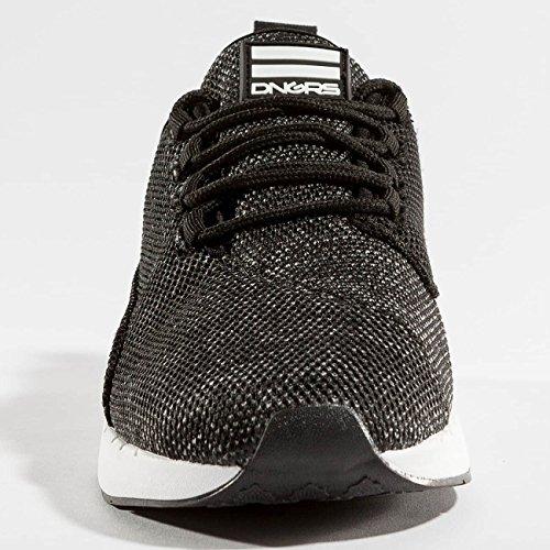 Dangerous DNGRS Uomo Scarpe/Sneaker Mesh 2 Nero
