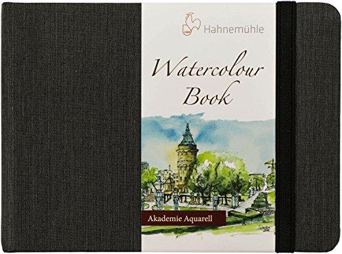 Aquarellbuch, Landschaftsformat 200 g/m², A6