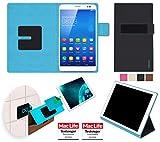reboon Huawei MediaPad X1 7.0 Hülle Tasche Cover Case Bumper | in Schwarz | Testsieger