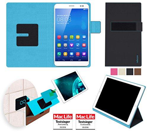 reboon Hülle für Huawei MediaPad X1 7.0 Tasche Cover Case Bumper | in Schwarz | Testsieger