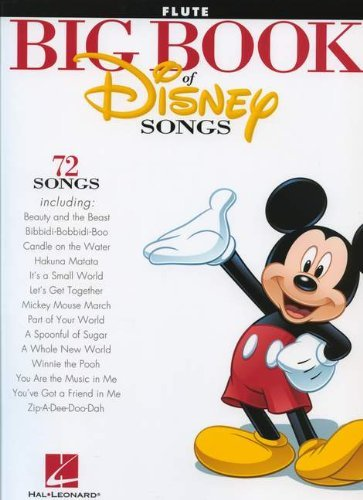 By Various The Big Book Of Disney Songs - Flute