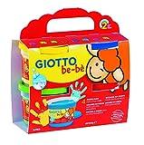 Fila CF 4 Bar 150Ml Giotto Bebe' Dita Contiene Grembiulino Tempere Artistiche 352,, 8000825006371