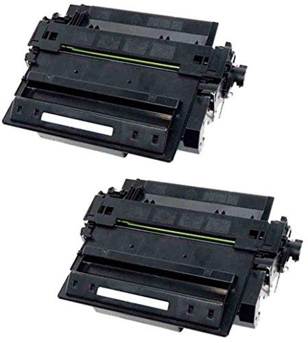 Cartuccia Toner originale nero ad alta capacità LaserJet HP 55X