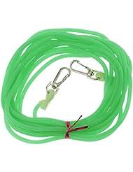 5m Cuerda De Pesca Accesoria Cable Caucho Elástico Tramo De Cordón Cadena De Pescar