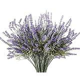 Planta artificial de lavanda con flores de seda para decoración de bodas y centros de mesa