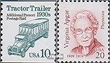 Prophila Collection USA 2456,2530 (kompl.Ausg.) 1994 Fahrzeuge, Apgar (Briefmarken für Sammler) Straßenverkehr