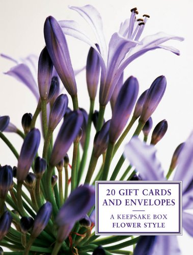 Tin Box of 20 Gift Cards and Envelopes: Flower Style (Keepsake Box)